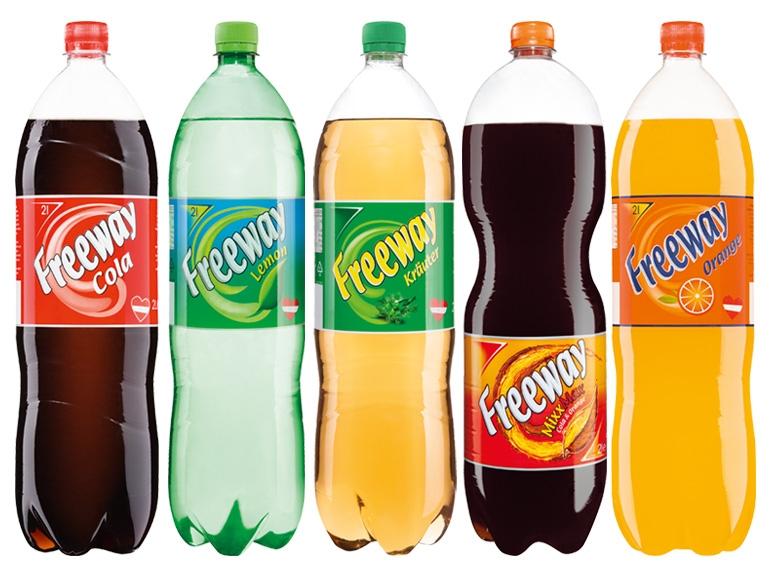 [Lidl] FREEWAY Limonaden für 0,39 € pro Flasche bei Abnahme von mind. 6 Stück