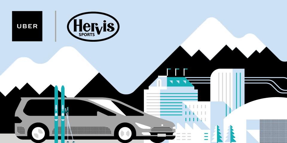 [UBER] Wien: UBERSki - kostenloser Premium Skiservice von Hervis - 23. bis 27. Jänner