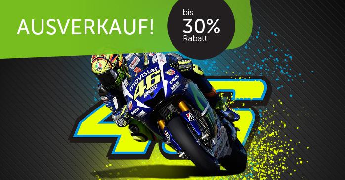 MOTO GP bis -30% auf Valentino Rossi Fanartikel