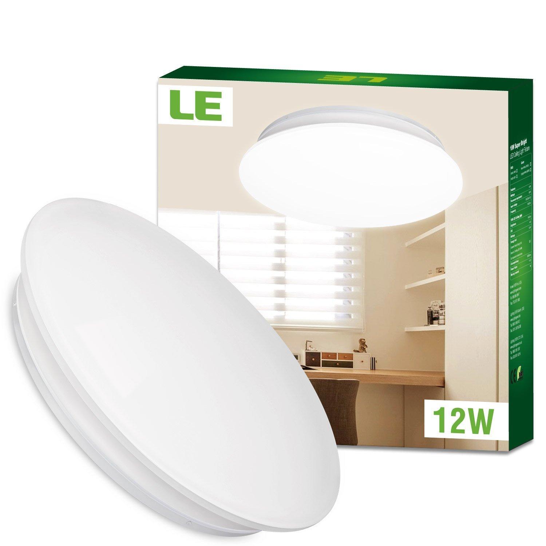 LED Deckenlampe mit 12 Watt - kalt + warmweiß 15.99€ gesunken (Amazon Prime)