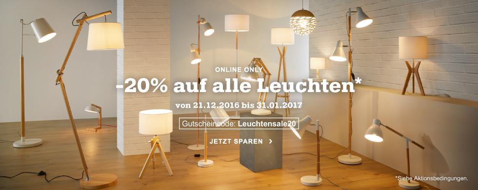 MÖMAX Online Only Leuchtensale -20 %