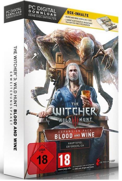 The Witcher Wild Hunt - Blood and Wine (Limited Editon) für PC[MediaMarkt.de] Free Versand nach AT