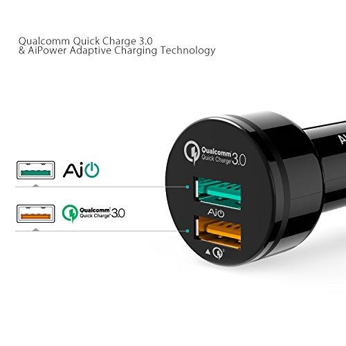 AUKEY Kfz Ladegerät Quick Charge 3.0 für 3 Euro (Prime)