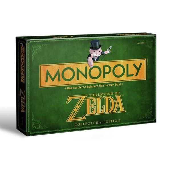 Buch.de: Winning Moves 43508 - Monopoly: The Legend of Zelda Collectors Edition für 21,49€