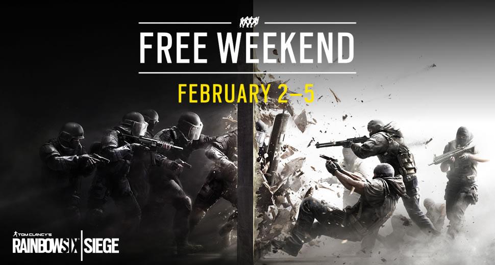 Rainbow Six Siege (PC / PS4 / Xbox One) vom 2. bis zum 5. Februar kostenlos spielen