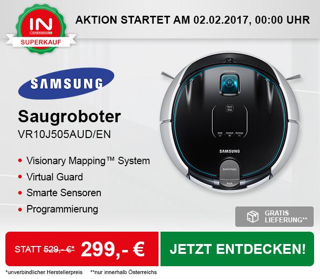[Interspar] Superkauf: Samsung VR10J505AUD/EN Saugroboter