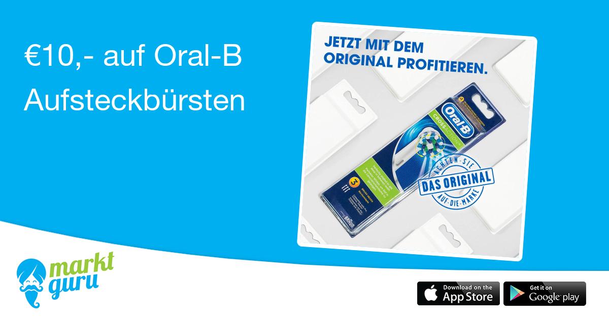 Oral-B Precision Clean Aufsteckbürsten je Stück 0,50 statt 2,50 (NUR LOKAL ->Graz)