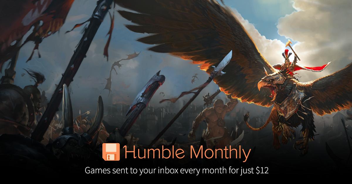 [Humble Monthly] Total War: Warhammer für € 11,13 ($12) (- 81%)