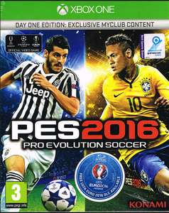 [Gameware] Aktion: Pro Evolution Soccer 2016 inkl. Euro 2016 für Xbox One