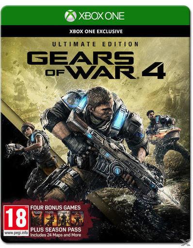 [Schnell-Deal] Gears of War 4 Ultimate Edition (inkl. Season Pass) für 29,99 € statt PVG 58 €