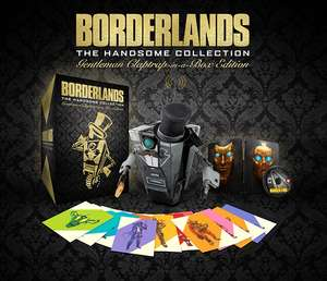 2K Shop: Borderlands: The Handsome Collection - Gentleman Claptrap-in-a-Box Edition (PS4 / Xbox One) für 74,99€