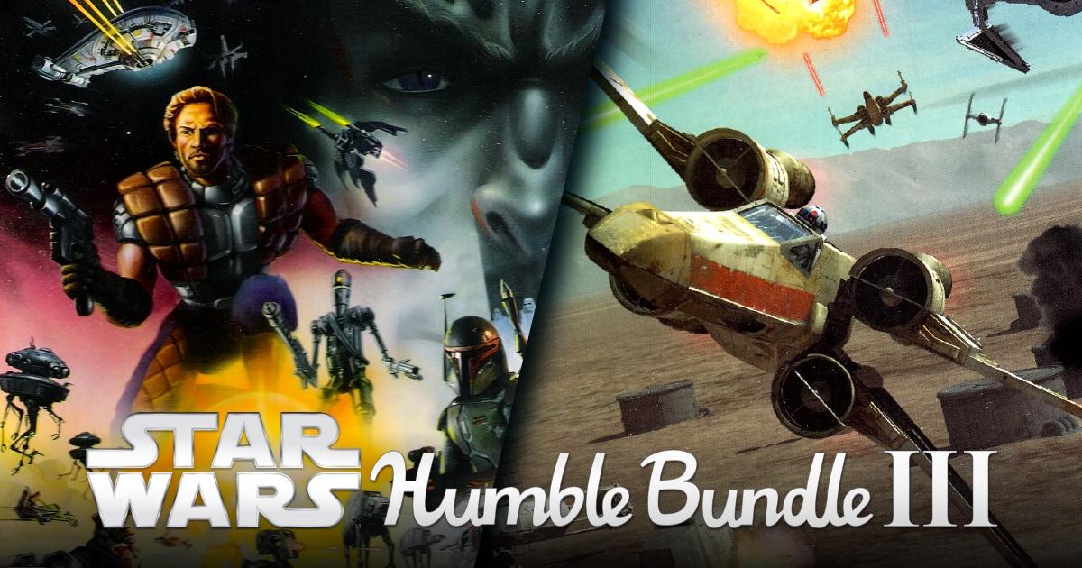 Star Wars Humble Bundle 3 - bis zu 15 Spiele (Steam) ab 0,94€