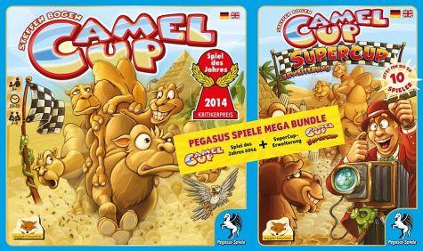 Müller: Camel Up + Camel Up Supercup Bundle für 10€