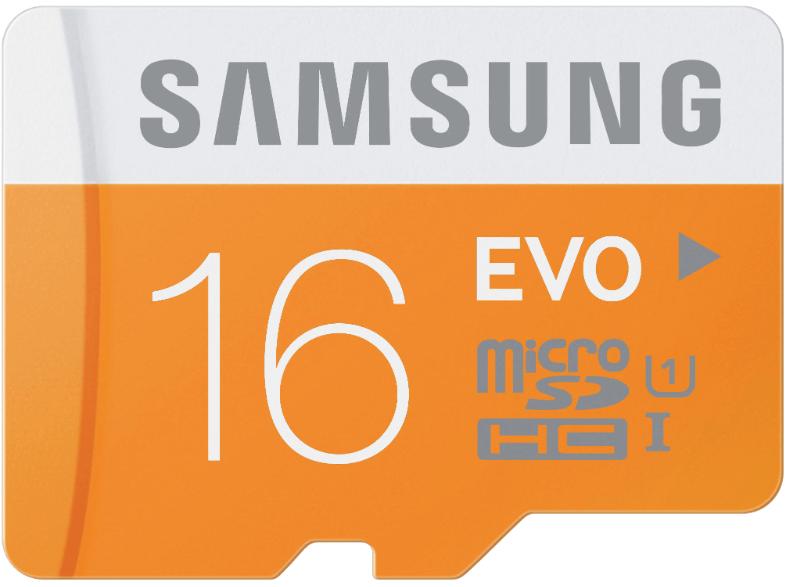 [mediamarkt.at] SAMSUNG microSDHC EVO 16GB für 5€ - 50% sparen