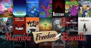 Humble Freedom Bundle! - The Witness, Stardew Valley, Subnautica,.. und mehr für $30