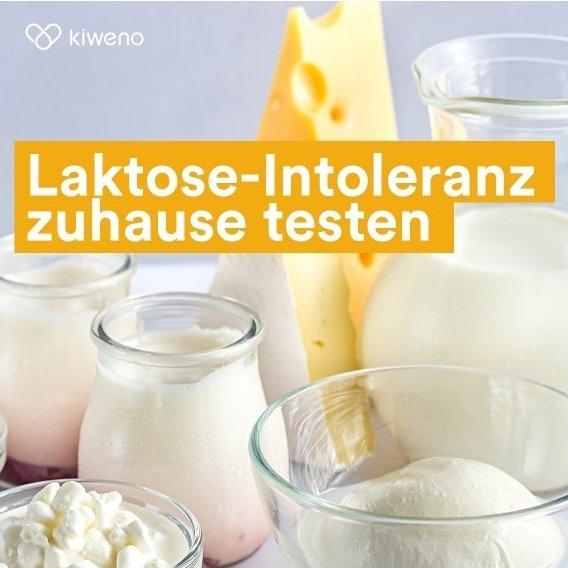 Kiweno: 10€ Gutschein auf kiweno Laktose-Intoleranztest + kostenloser Versand