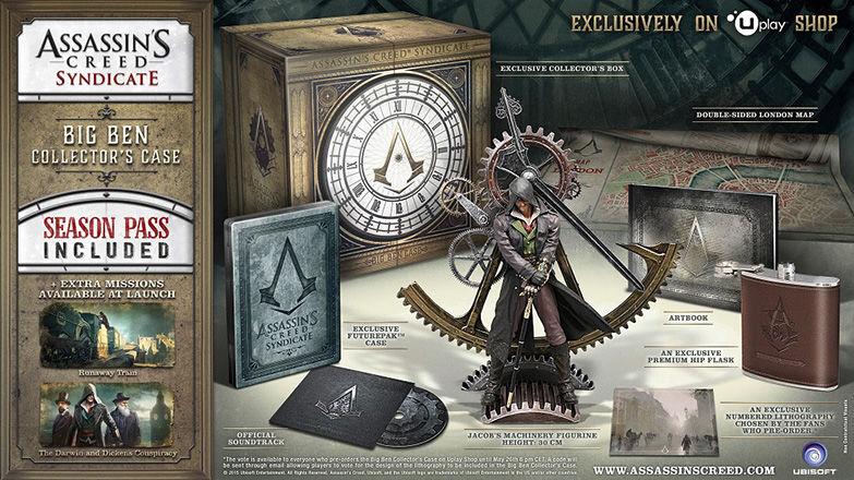 AC Syndicate Big Ben Collector's für die PS4