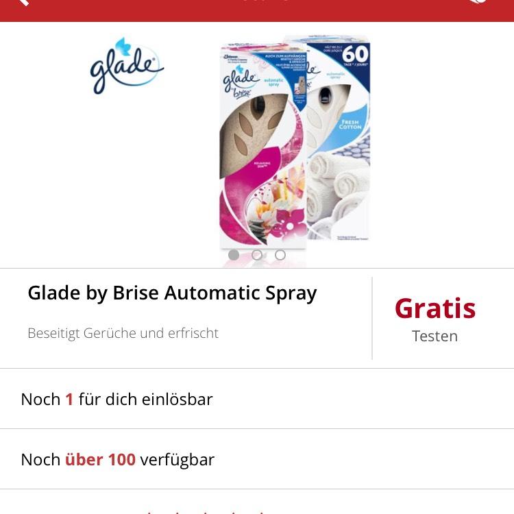 Glade by Brise gratis testen