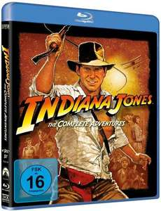 Thalia: 17% Rabatt auf Filme - u.a. mit: Indiana Jones - The Complete Adventures [Blu-ray] für 12,44€