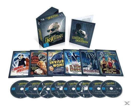 Der Unsichtbare: Monster Classics Complete Collection (6 DVDs + 2 Blu-rays) Limited Edition (auf 2500 Stück) - für 29,99 € statt PVG 75,99 €