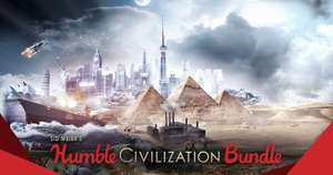Humble Civilization Bundle - bis zu 4 Spiele (Steam) ab 0,95€