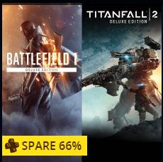 [PSN + PS+] Battlefield 1 + Titanfall 2 ( beides in der Deluxe Edition) für 49,99€