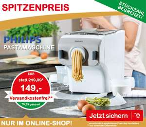 [Interspar] Onlineshop Angebot: Philips Pastamaker HR2355