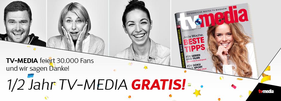 TV-Media 6 Monate GRATIS - Abo endet automatisch!