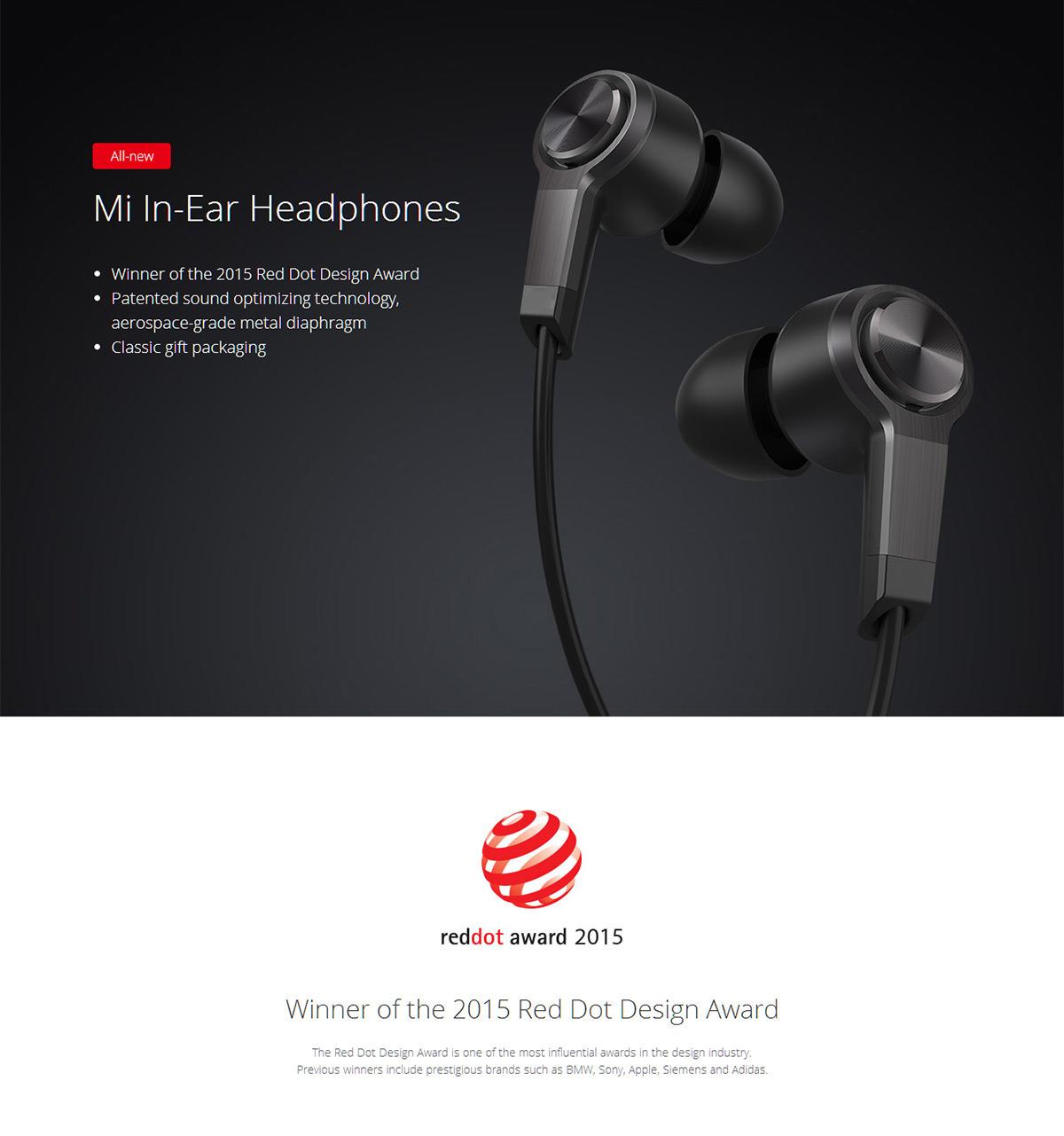 [Gearbest] Original Xiaomi Piston Earphones - 3rd Generation zum Bestpreis 11,89€