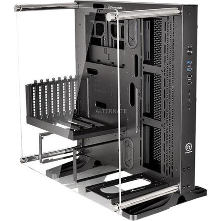 [ZackZack] Thermaltake Core P3 Show-Gehäuse schwarz für 94,85 € - 21% Ersparnis