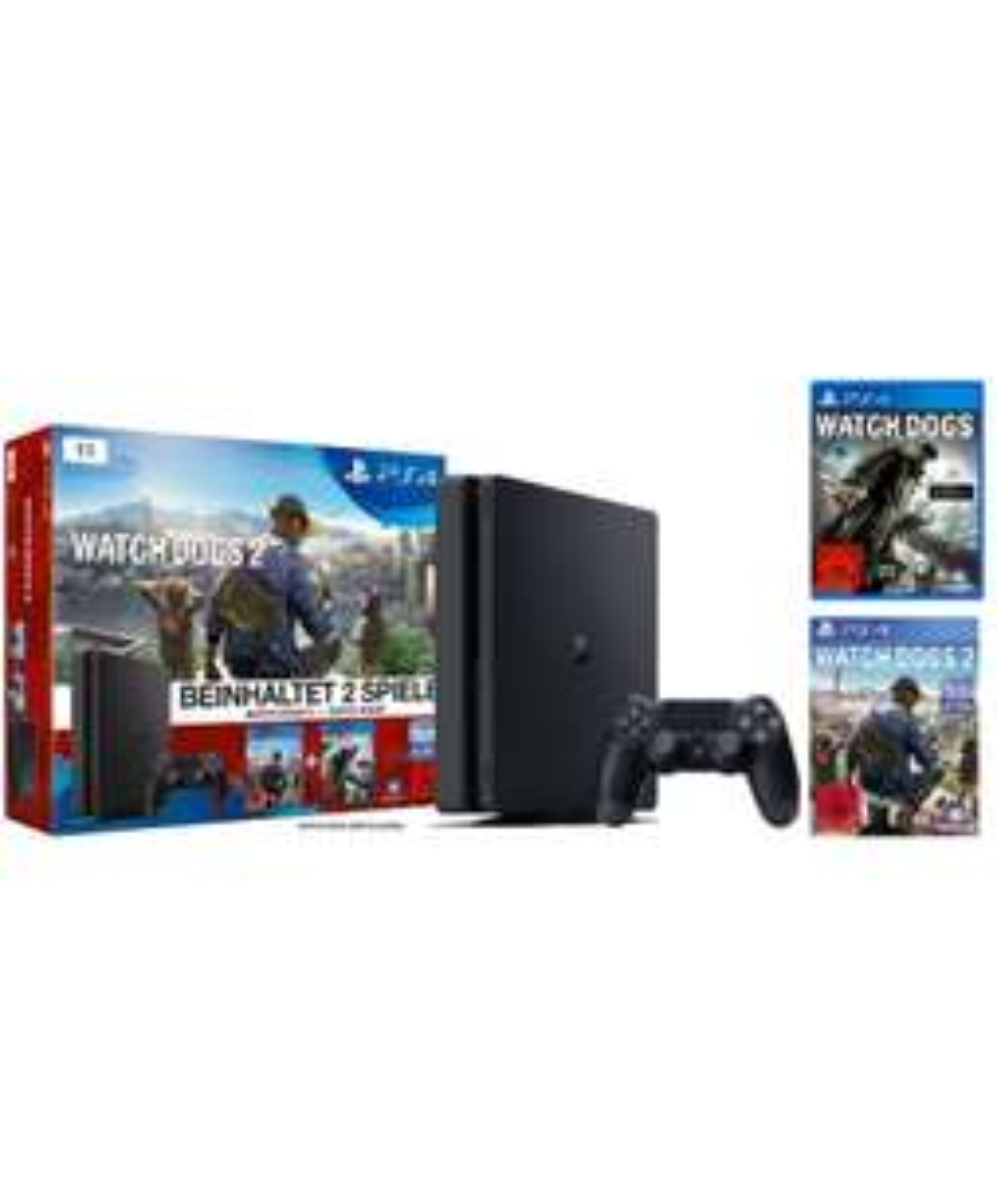 [Amazon] PlayStation 4 inkl. Watchdogs + Watchdogs 2
