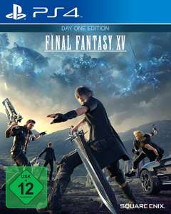 [www.AMAZON.de]  Final Fantasy XV - Day One Edition - [PlayStation 4] + [XBOX ONE] 22% Ersparnis & Amazon Gutschein von 1€ für PrimeVideo