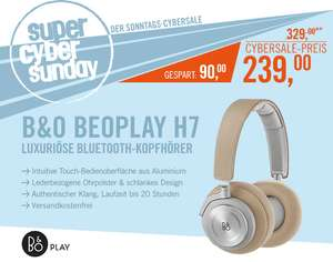 B&O PLAY BeoPlay H7 Wireless Over-Ear Bluetooth-Kopfhörer natural