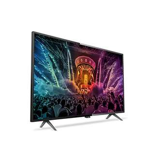 www.AMAZON.de - Philips 49PUS6101/12 123 cm (49 Zoll) Ultraflacher 4K Smart LED-Fernseher für € 461,76 - 22% Ersparnis