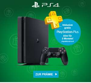 (Info) My McDonalds: Sony PlayStation 4 Slim (500 GB) + 3 Monate PS Plus um 150 € + 100 Ms