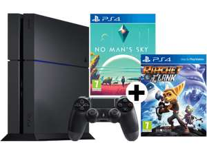 SONY PS4 1TB Bundle mit No Mans Sky und Ratchet & Clank + 3 Monate PlayStation Plus