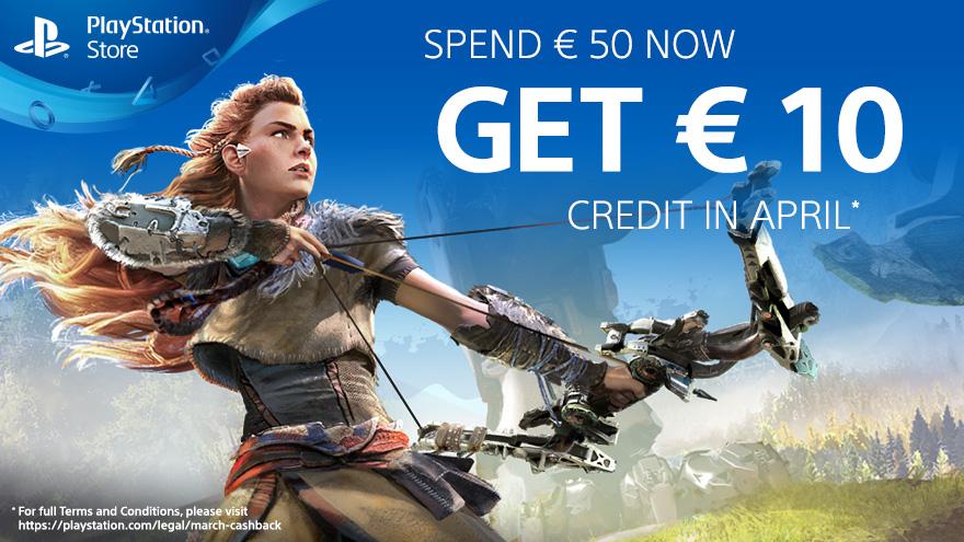 [PSN] 10€ Guthaben geschenkt, wenn ihr im März mind. 50€ ausgebt
