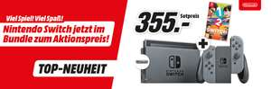 Nintendo Switch + 1-2 Switch Bundle bei MediaMarkt