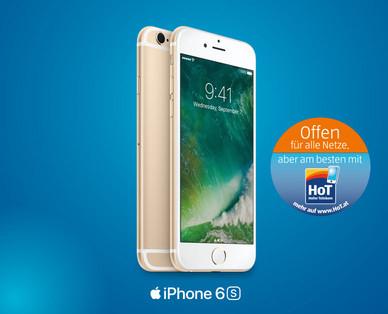 Hofer: iPhone 6S (16 GB) um 539 € (nicht in allen Filialen!)