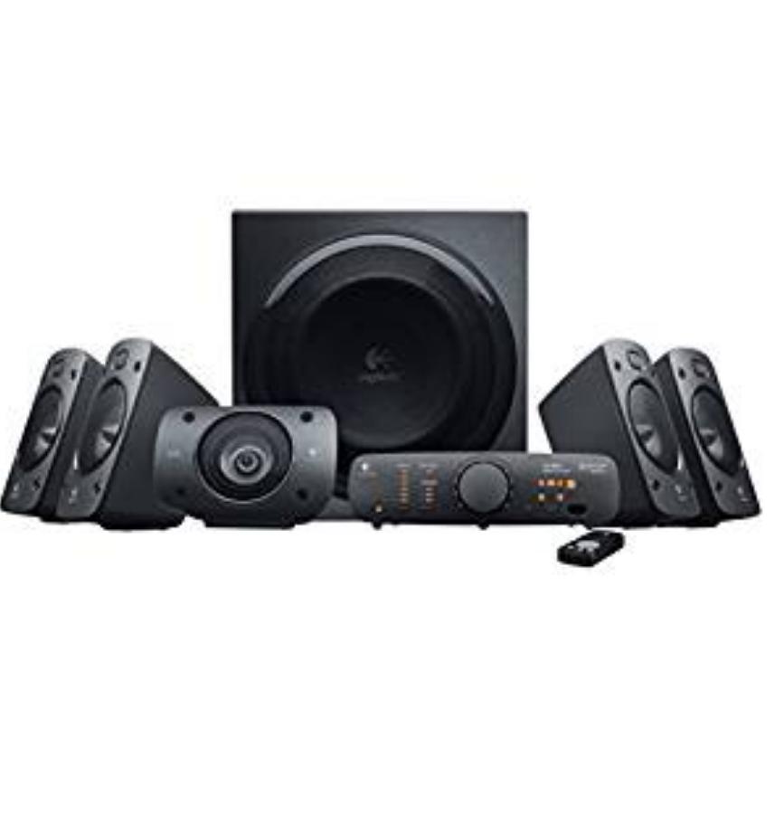 Logitech Z906 3D-Stereo-Lautsprecher THX (Dolby 5.1-Surround-Sound und 500 Watt)