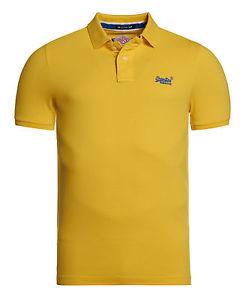 eBay: Superdry Polo (gelb) um 18 € inkl Versand