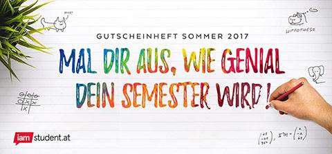 19 neue Gutscheine im Gutscheinheft für Studenten (On- und Offline!)