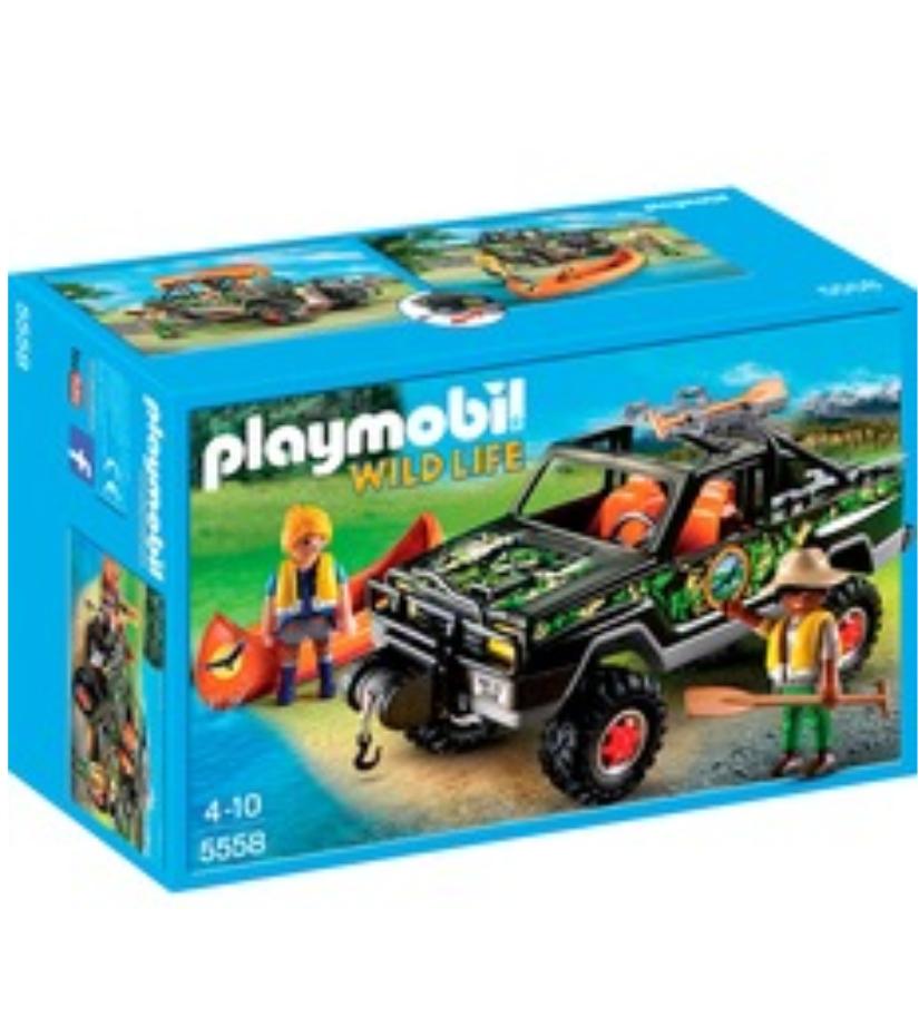 PLAYMOBIL 5558 - Abenteuer-Pickup (Bestpreis)