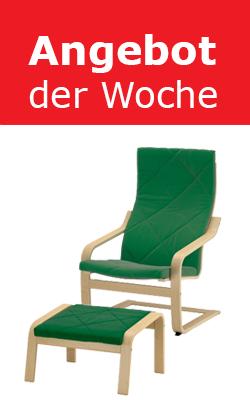 IKEA Wien/Vösendorf (SCS): Sessel + Hocker um 149 € / Hochschrank um 89 € - bis zu 44%
