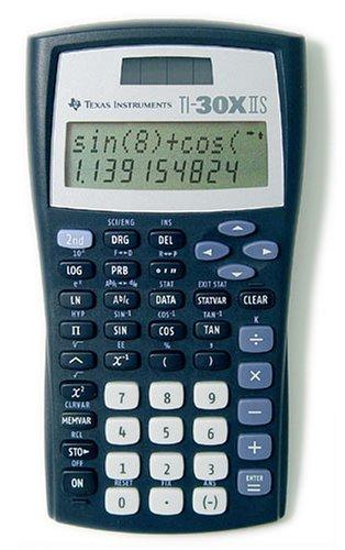 """Texas Instruments """"30 X II"""" Solar Taschenrechner um 15 € - 40%"""