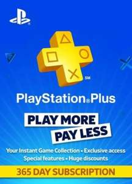 Playstation Plus 365 Tage Mitgliedschaft
