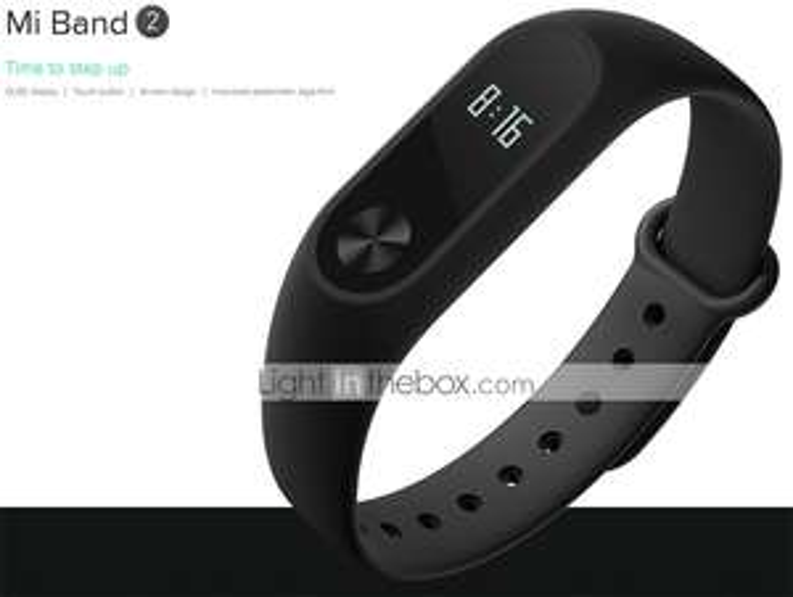Xiaomi® Mi band 2 Smart-Armband