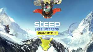 Steep ( PS4/ XBox One/ PC) Free Weekend - vom 10.- 13. März gratis spielen