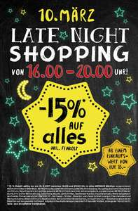 -15% auf alles bei Merkur's Late Night Shopping am 10. März 2017