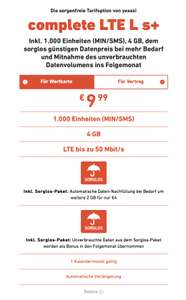 yesss! Complete LTE-L mit Sorglos Paket